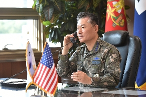 CJCS Won's phone call with US CJCS·INDOPACOM CDR 대표 이미지